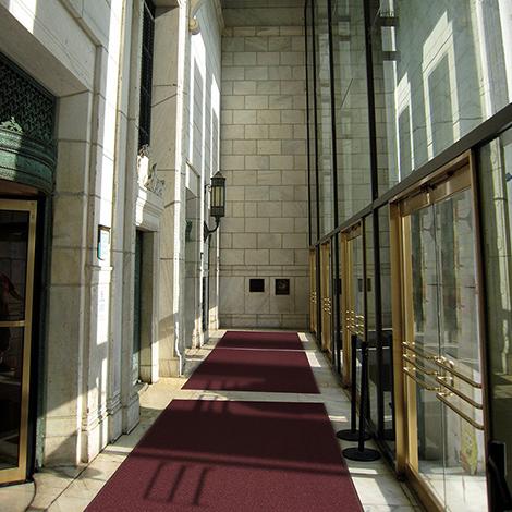 Eingangsmatte Elegant im Schachbrettmuster, für den Innenbereich