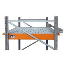 Einhängewanne aus Stahl, inkl. Gitterrost