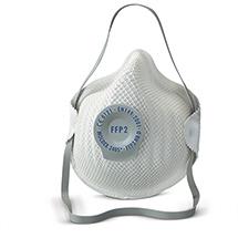 Einweg-Feinstaubmaske KLASSIK FFP2D, mit Ausatemventil