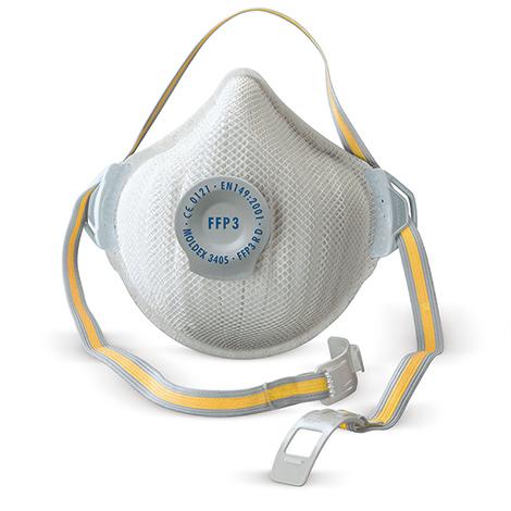 Einweg-Feinstaubmaske Serie 3000 FFP3D mit Ausatemventil