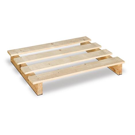 Einweg-Holzpalette. 2-Wege