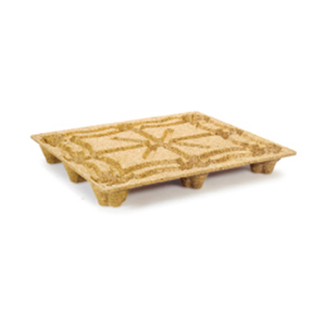Einweg - Pressholzpalette, INDUSTRIE-Format, Tragkraft 900 kg