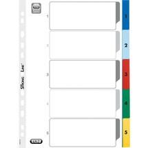 ELBA® Kunststoffregister Zahlen