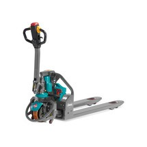 Elektrický paletový vozík Ameise® - lithium-iontový akumulátor, zvláštní nosná šířka vidlí 685 mm, nosnost 1200kg