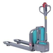 Elektrický paletový vozík Ameise® PTE 1.1 – lithium iontová technologie, extra šířka pro zvláštní palety