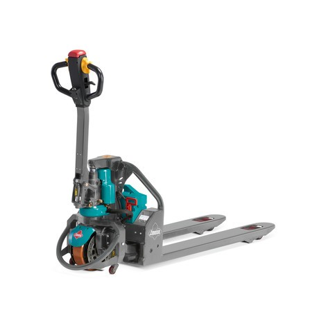Elektrický ručný paletový vozík Ameise® s lítiovo-iónovým akumulátorom, špeciálna nosná dĺžka vidlíc 685 mm, nosnosť 1 200kg