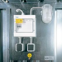 Elektrisch installatiepakket voor milieucontainer
