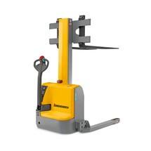 Elektrische breedspoor-stapelaar Jungheinrich® EMC B10. Monomast. Hefhoogte tot 2000 mm, capaciteit 1000 kg