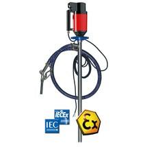 Elektrische laboratoriumpomp voor dunne, agressieve media zoals zuren en reinigingsmiddelen
