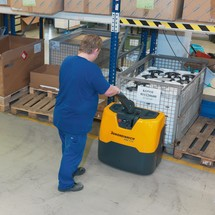 Elektrische palletwagen Jungheinrich ® EME 114. Capaciteit 1400 kg