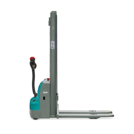 Elektrische stapelaar Ameise® PSE 1.0 - tweevoudige telescoop hefmast