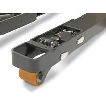 Elektrische stapelaar Jungheinrich® EJC112/ZT met drempelfunctie, 2-delige telescoop-hefmast. Hefhoogte tot 2900 mm. Capaciteit 1200 kg