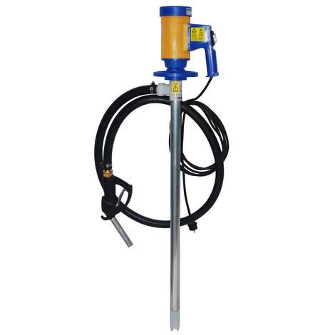 Elektrische trommelpomp set voor minerale olieproducten