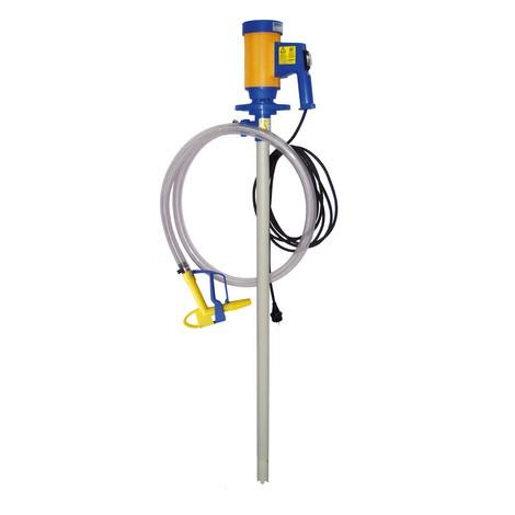 Elektrische trommelpomp set voor zuren en alkali