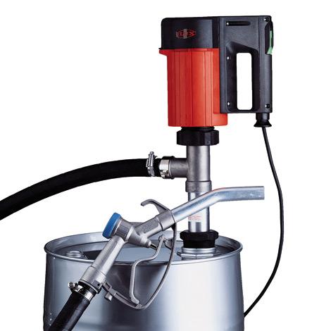 Elektrisches Fasspumpen-Set FLUX ® für Mineralöl-Produkte