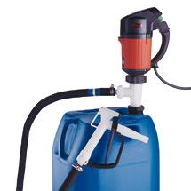 Elektrisches Pumpen-Set FLUX ® für konzentrierte Säuren und Laugen