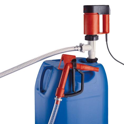 Elektrisches Pumpen-Set FLUX ® für Säuren und Laugen