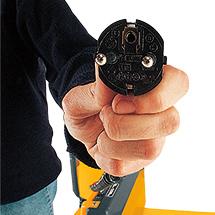 Elektro-Handstapler Jungheinrich HC 110 - Zweifach-Mast, Hub bis 3000 mm, Tragkraft 1000 kg
