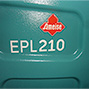 Elektro-Hochhubwagen Ameise® EPL 210, Hubhöhe 2500mm, Vorführgerät mit leichten Gebrauchsspuren