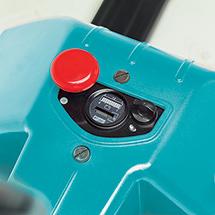 Elektro-Hubwagen Ameise® EPM 113W mit Waage - 1kg-Wiegeschritte, Tragkraft 1300 kg