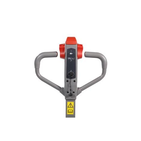 Elektro-Hubwagen Ameise® PTE 1.1 - Lithium-Ionen, Sonder-Gabeltragbreite 685 mm