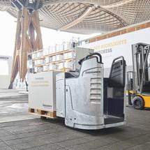 Elektro-Hubwagen Jungheinrich ERE 225 (ZINC) mit fester Plattform - Gebrauchtgerät