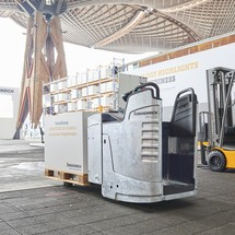 elektro hubwagen jungheinrich eje 116 gebrauchtger t. Black Bedroom Furniture Sets. Home Design Ideas