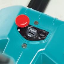 Elektro-Niederhubwagen Ameise® EPM 113 mit Waage