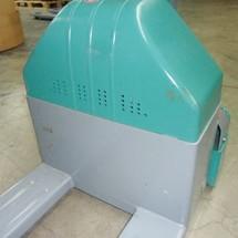 Elektro-Niederhubwagen Ameise® EPM 113 mit Waage - Vorführgerät mit sichtbaren Gebrauchsspuren