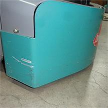 Elektro-Niederhubwagen Ameise® EPM 113 mit Waage, Vorführgerät mit sichtbaren Gebrauchsspuren