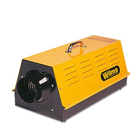 Elektroheizer Wilms ®. Heizleistung 2 x 4,5 kw