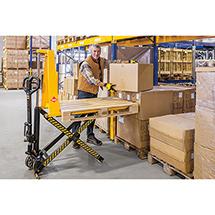 Elektrohydrauliczny wózek nożycowy Ameise®. Wys. podn. 800 mm. Udźwig 1000 kg.