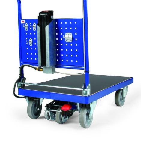 Elektryczwózek platformowy