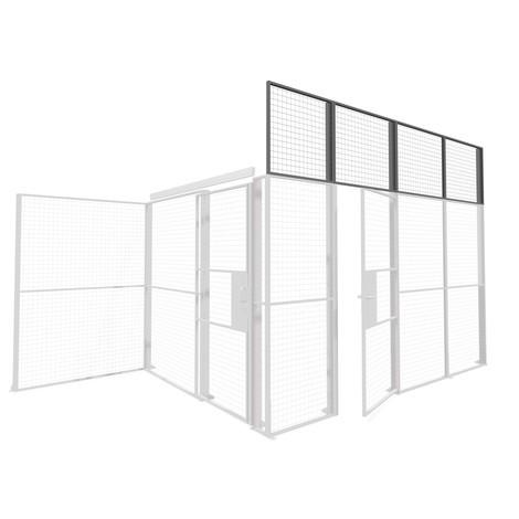 Element nasadzany Profi do systemu ścian działowych TROAX®