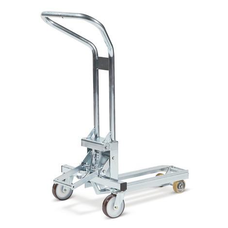 Elevador de paletes de expositor Premium, altura de elevação 120 mm