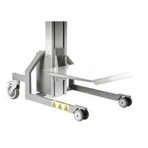 Elevatore HOVMAND con piattaforma in acciaio inox