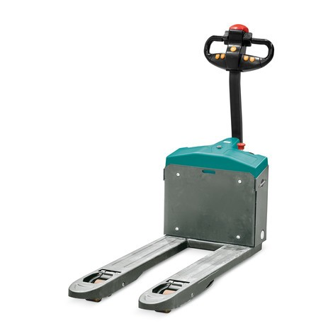 Elpalleløfter Ameise®, længde 1150 mm, løfteevne 1500 kg
