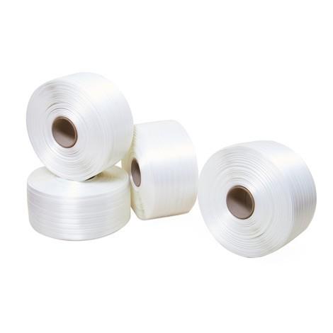 Emballeringsband av PET, limmat, kärnans Ø 76 mm