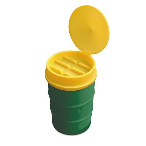 Embudo de tambor hecho de PE, tapa y colador inclusivo