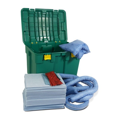 Emergency kit rollbox, kapacitet 150 liter
