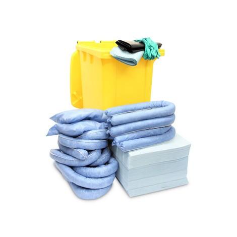 Emergency kit rullende tønde, kapacitet 200 liter