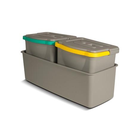 Emmerset inclusief lekbak voor schoonmaakwagen COMBIX, XL en PRO