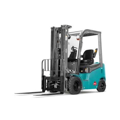Empilhador a diesel Ameise® - Capacidade de carga 1.800 kg, Altura de elevação 4.700 mm / Mastro triplo