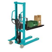 Empilhador hidráulico Ameise® com mastro simples