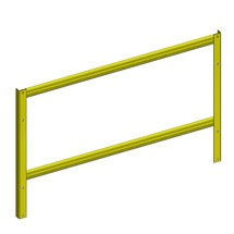End stand attachment for 3-in-1 hybrid rack