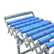 Endanschläge für Scheren-Rollenbahnen und -Röllchenbahnen, fest