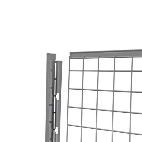 Endprofil für Trennwandsystem TROAX®