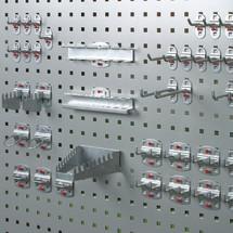 Ensemble de crochets pour armoire à volet roulant d'atelier stumpf®