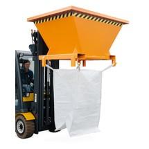 Entonnoir de remplissage pour sacs de transport BIG BAG, H x l x P 990 x 1 710 x 1 320 mm