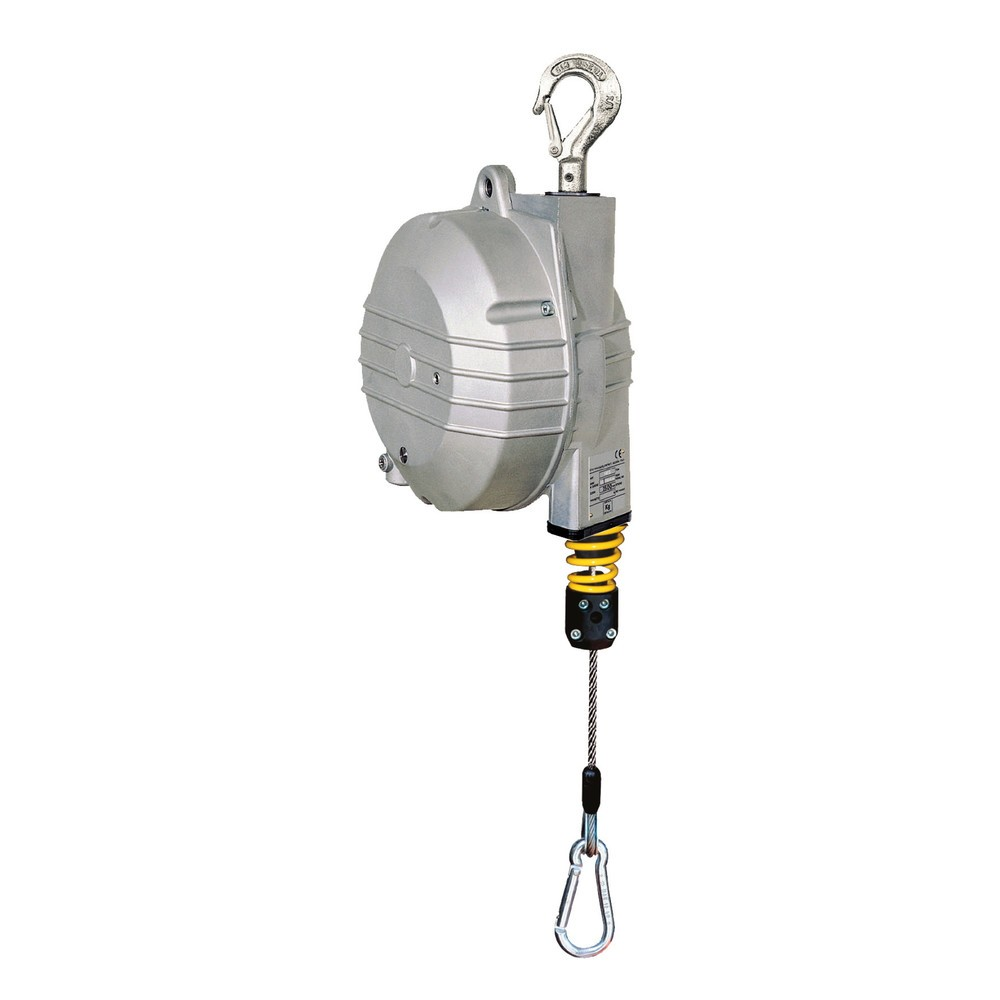 Équilibreur à ressort, course de câble de 2 m, capacité de charge 4-25 kg